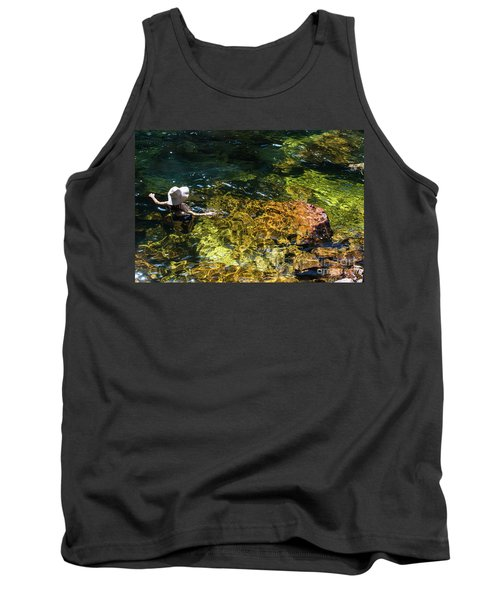 swimming in the Buley Rockhole waterfalls Tank Top