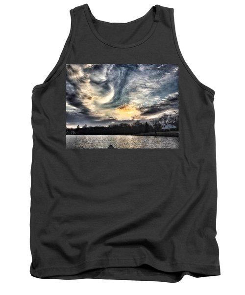 Swirl Sky Sunset Tank Top