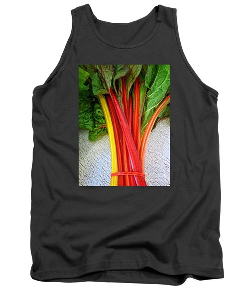 Swiss Chard Tank Top by Dee Flouton