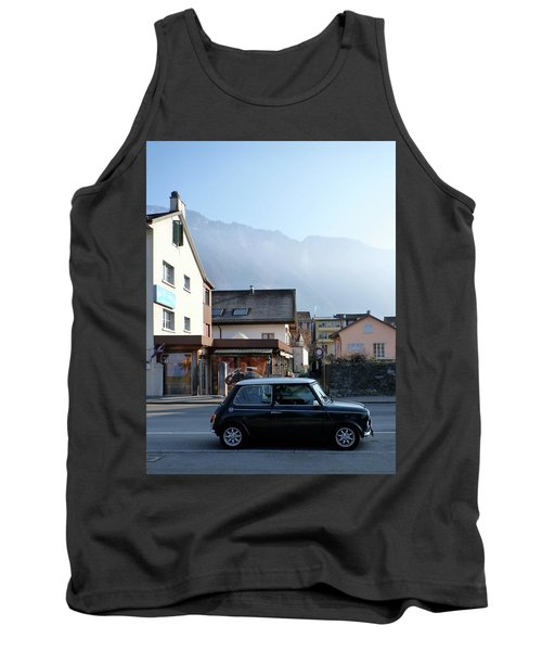 Tank Top featuring the photograph Swiss Mini by Christin Brodie
