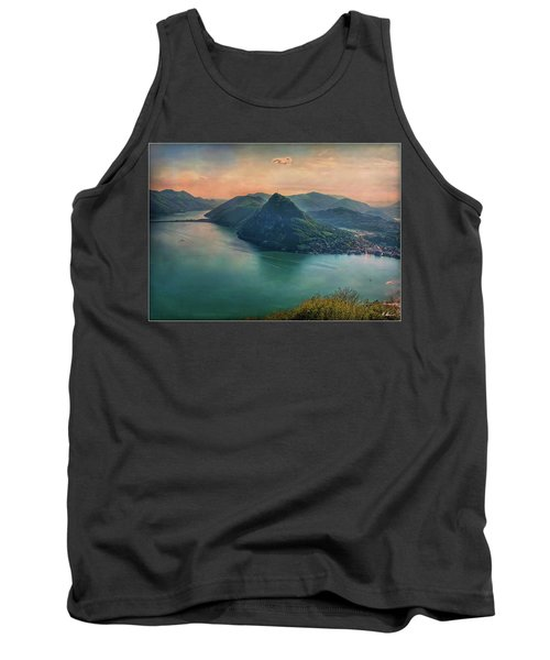 Tank Top featuring the photograph Swiss Rio by Hanny Heim