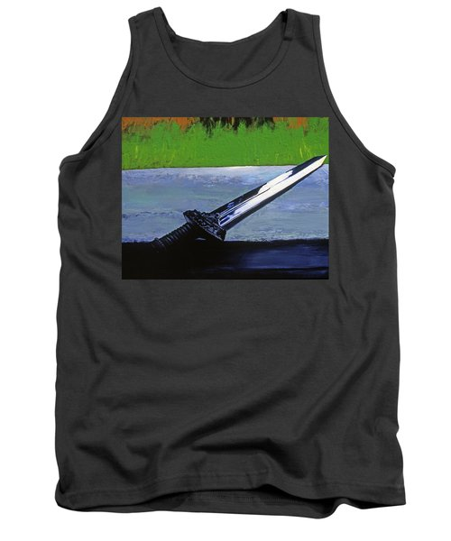 Sword Of Protection  Tank Top