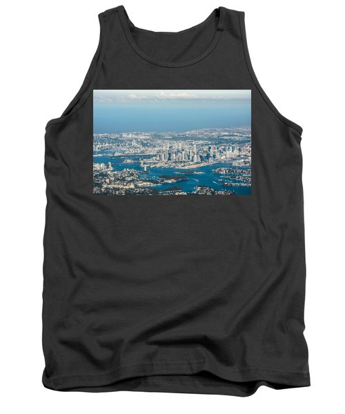 Sydney From The Air Tank Top by Parker Cunningham