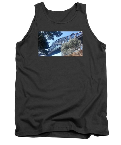 Sydney Harbor Bridge Tank Top by Bev Conover