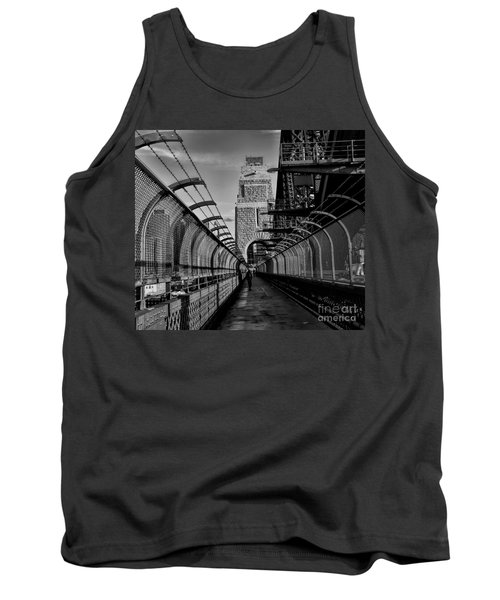 Sydney Harbor Bridge Bw Tank Top