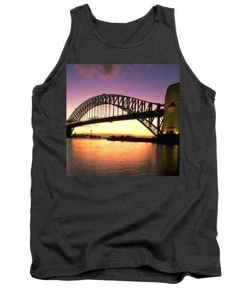 Sydney Harbour Bridge Tank Top by Travel Pics