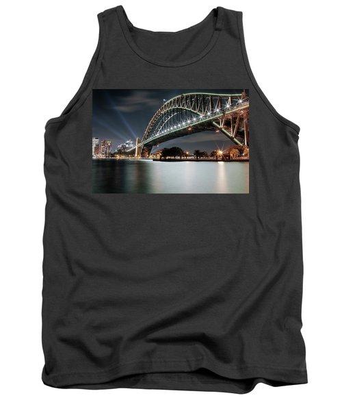 Sydney Harbour Lights Tank Top