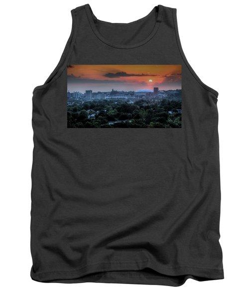 Syracuse Sunrise Tank Top by Everet Regal