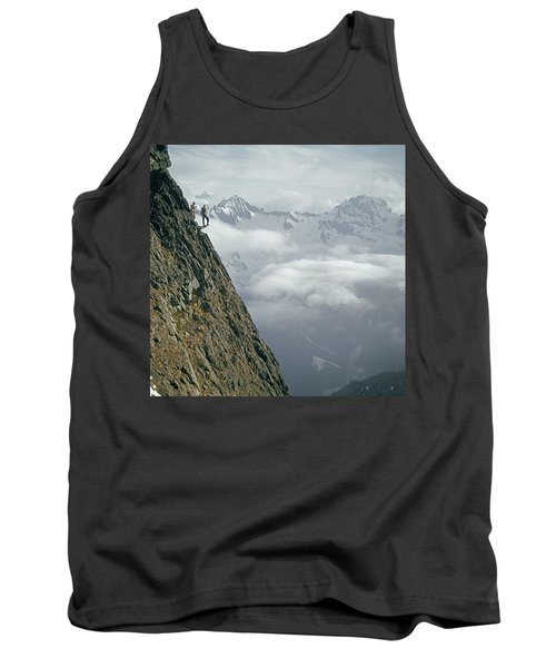 T-404101 Climbers On Sleese Mountain Tank Top