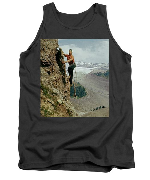T-902901 Fred Beckey Climbing Tank Top