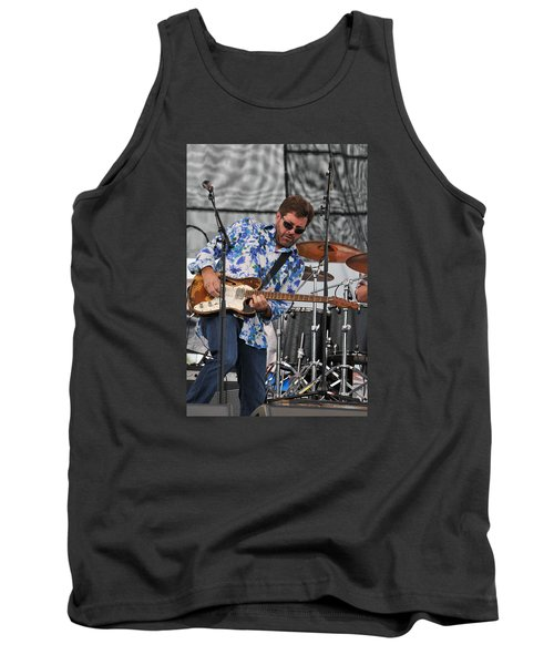 Tab Benoit Plays His 1972 Fender Telecaster Thinline Guitar Tank Top