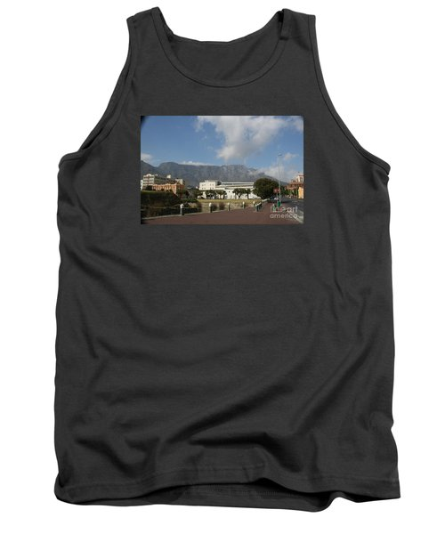 Table Mountain, Capetown Tank Top by Bev Conover