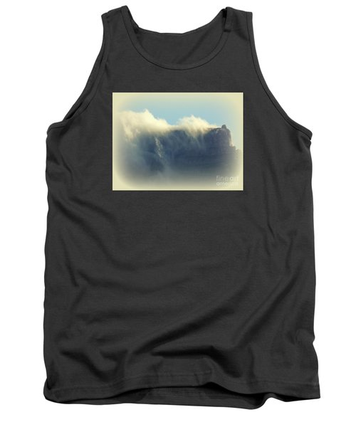 Table Rock With Cloud 2 Tank Top by John Potts