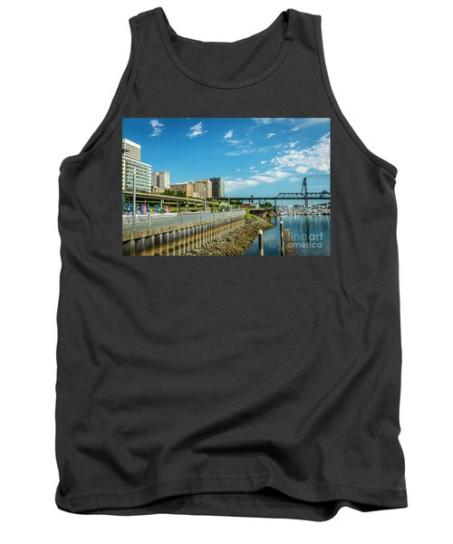 Tacoma And 11th Street Bridge Tank Top