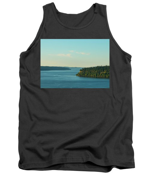 Tacoma Narrows And Commencement Bay II Tank Top