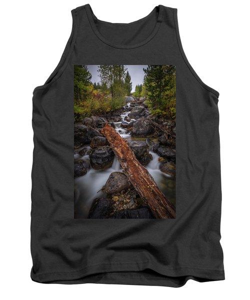 Taggert Creek Waterfall Log Tank Top