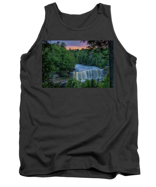 Tahquamenon Falls Sunset. Tank Top