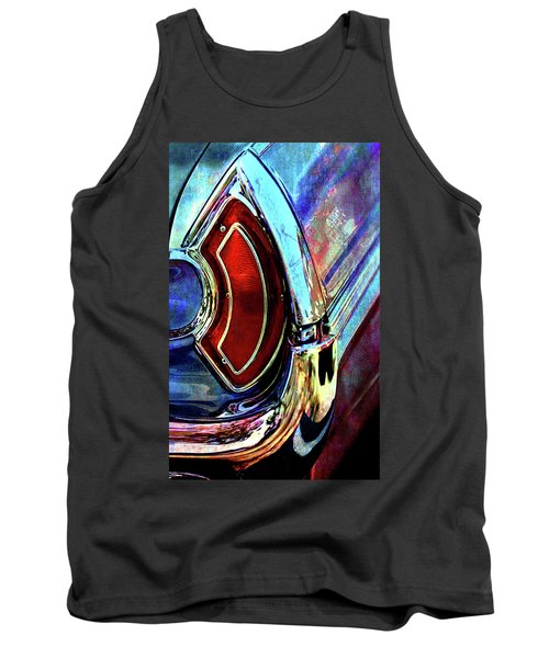 Tank Top featuring the digital art Tail Fender by Greg Sharpe