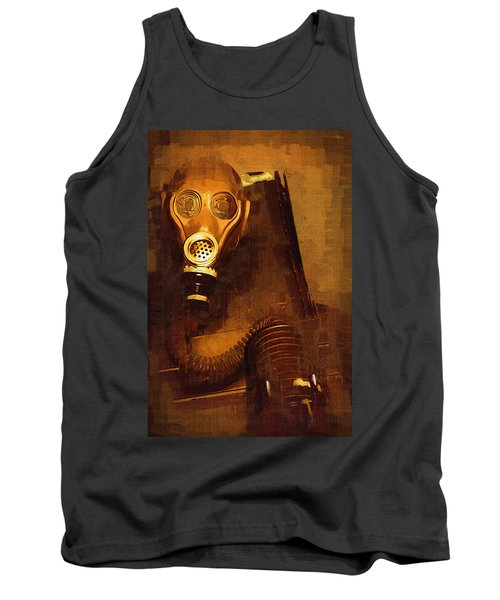 Tank Top featuring the painting Tainted by Holly Ethan