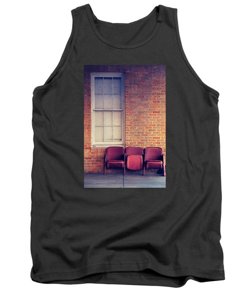 Tank Top featuring the photograph Take A Seat by Trish Mistric