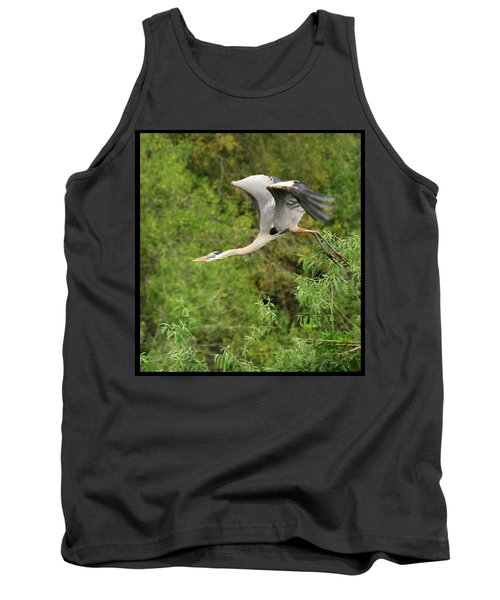 Tank Top featuring the photograph Take Off by Shari Jardina