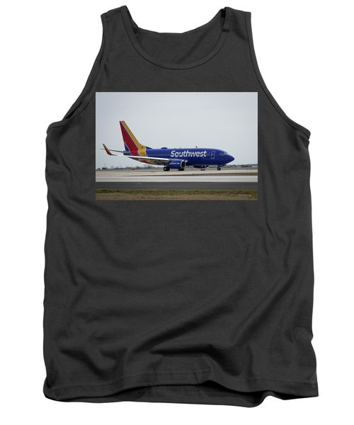 Take Off Southwest Airlines N7878a Hartsfield-jackson Atlanta International Airport Art Tank Top