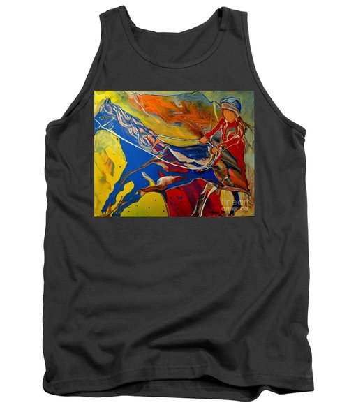 Taking The Reins Tank Top