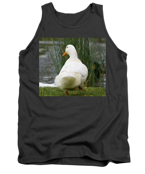 Tank Top featuring the photograph Tale Feathers by Tara Lynn