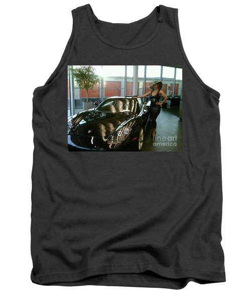 Talisa Hartleys Sports Cars And Big Muscles Tank Top
