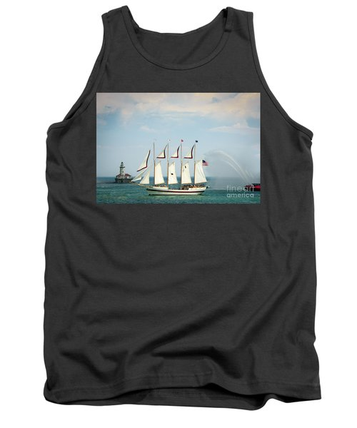 Tall Ship Tank Top