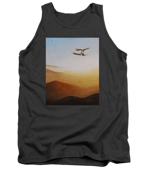 Tank Top featuring the painting Talon Lock by Dan Wagner