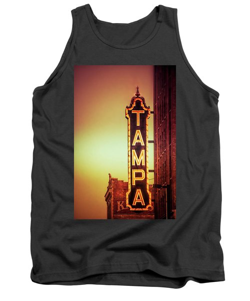 Tampa Theatre Tank Top by Carolyn Marshall