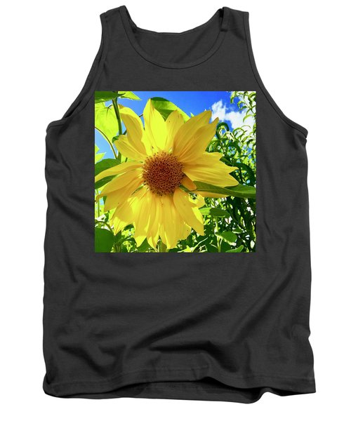 Tangled Sunflower Tank Top