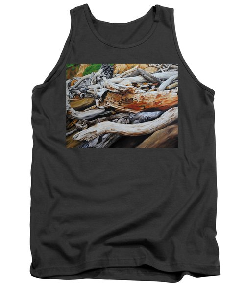 Tangled Timbers Tank Top