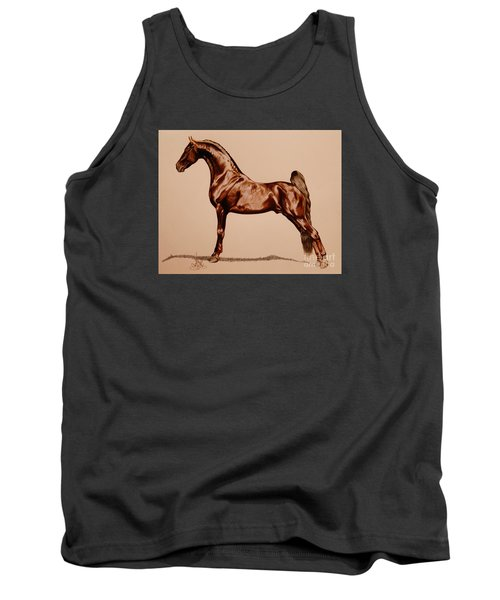 Tangos Daylight - Saddlebred Stallion Tank Top