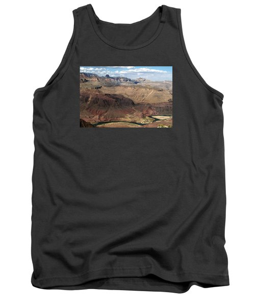 Tanner Rapids And The Colorado River Grand Canyon National Park Tank Top