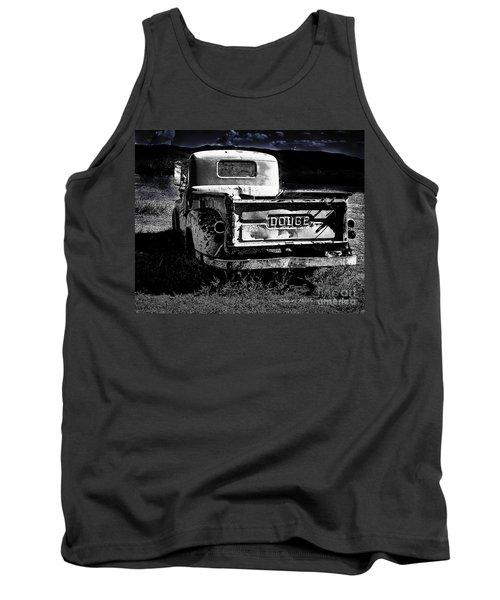 Taos Dodge B-w Tank Top