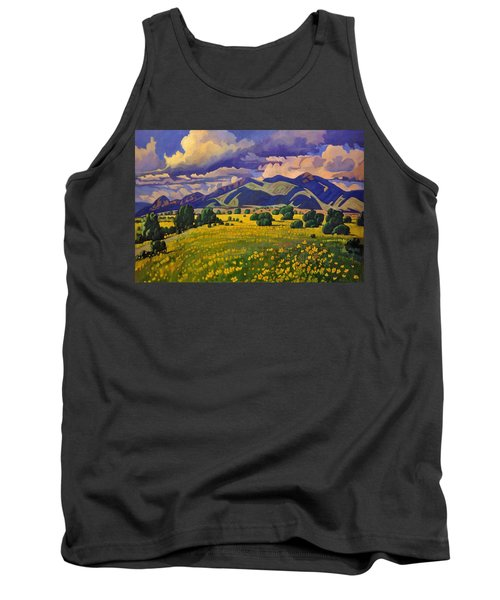 Taos Fields Of Yellow Tank Top