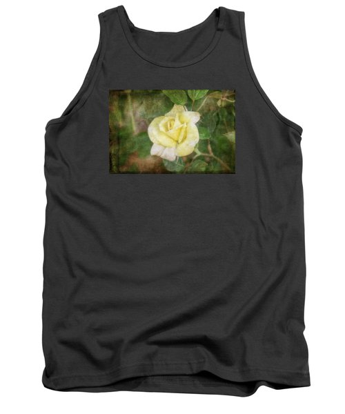 Tank Top featuring the photograph Tapestry Rose by Joan Bertucci