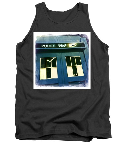 Tardis Dr Who Tank Top