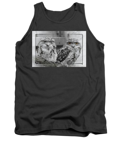 Tawney Frogmouths Tank Top