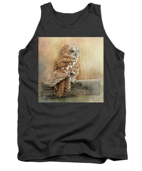 Tawny Owl Tank Top
