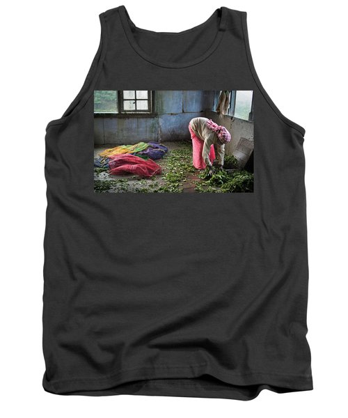Tank Top featuring the photograph Tea Factory by Marion Galt