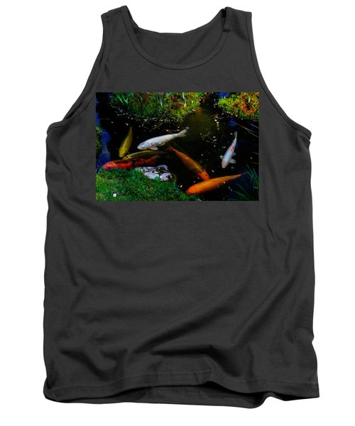 Tea Garden Koi 2 Tank Top