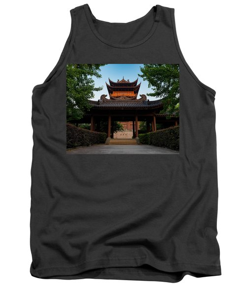 Tea House In The Morning I Tank Top