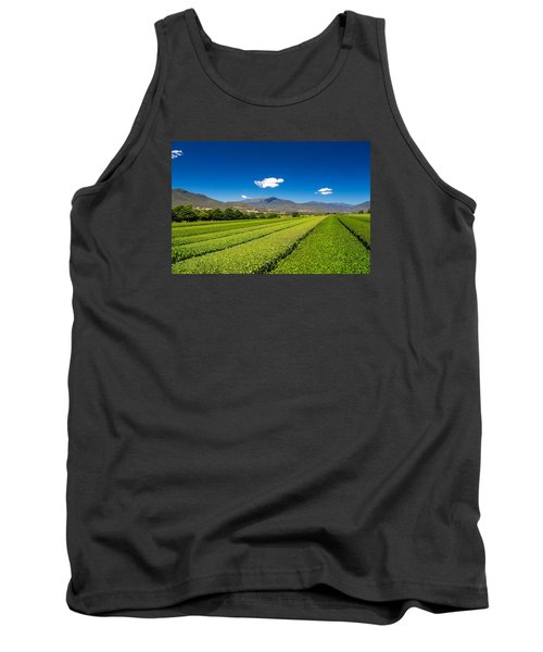 Tea In The Valley Tank Top by Mark Lucey