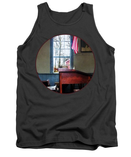 Teacher - Schoolmaster's Desk Tank Top