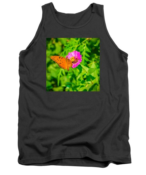 Teacup The Butterfly Tank Top by Ken Stanback