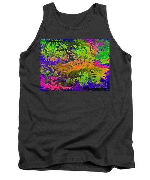 Technicolor Leaves Tank Top