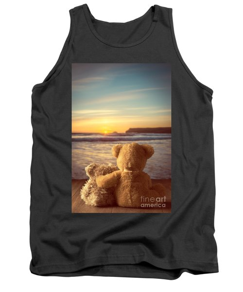 Teddies At Sunset Tank Top
